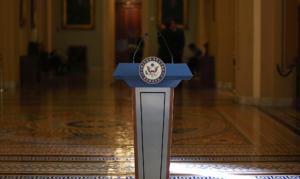 senate podium