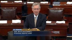 Majority Leader McConnell Russ Thomasson Tribute