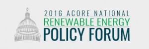 ACORE Renewable Energy Forum